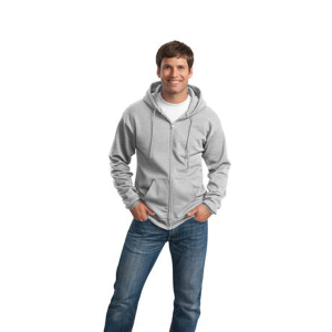 Port & Company® Core Fleece Full-Zip Hooded Sweatshirt - Men's